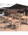ND Faro mini kültéri bárszék választható színben